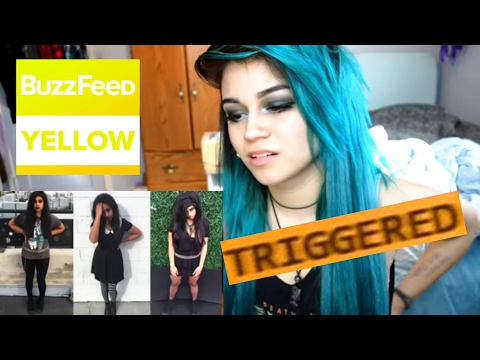 Xxx Mp4 EMO REACTS TO I Dressed Emo For A Week By BuzzFeedYellow Kylie The Jellyfish 3gp Sex