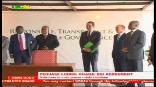 Peduase Lodge: Ghana/ ENI Agreement