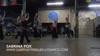 Tribal Belly Dance Lessons with Sabrina Fox  | Chris Lougeay Music Blog