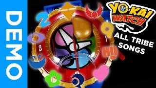 [4K] ALL TRIBE SONGS in Yo-Kai Watch Model Zero + WICKED!!