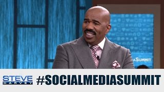 Should you accept a friend request from your boss? || STEVE HARVEY