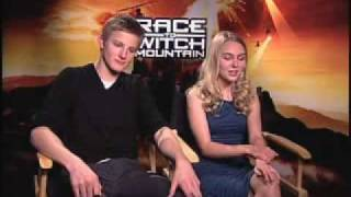 Interviews Race to Witch Mountain - AnnaSophia Robb and Alexander Ludwig 2nd
