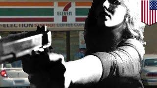 Self-defense stories: 7-Eleven clerk caps armed robber during her cigarette break - TomoNews