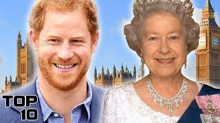 Top 10 Famous People Related To Queen Elizabeth