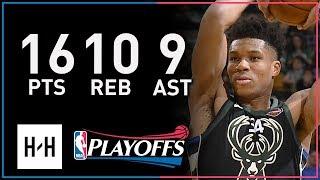 Giannis Antetokounmpo Full Game 5 Highlights Bucks vs Celtics 2018 Playoffs - 16 Pts, 10 Reb, 9 Ast!