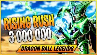 [F2P] RISING RUSH 3 MILLIONS EX-5 EVENT CELL - DRAGON BALL LEGENDS FR