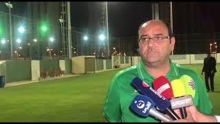 باسل كوركيس : هناك صعوبات واجهت المدرب قبل لقاء الارجنتين
