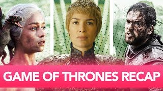 Game of Thrones SEASON 1-7 Recap in 10 mins!