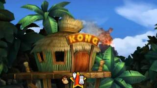 Donkey Kong Country Returns - Playthrough [Part 1 - Intro & 1-1: Jungle Hijinxs] [ENG]