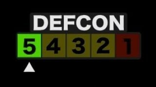 STRANGE! US NUCLEAR THREAT LEVEL LOWERED TO DEFCON 5