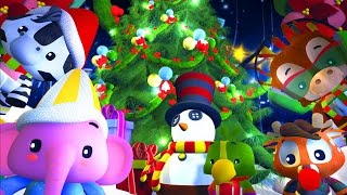 Jingle Bells | One Horse Open Sleigh | Christmas Song for Children by Little Treehouse