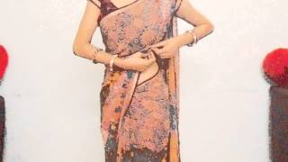How To Drape Fish Cut Saree-How To Wear Saree For Curvies Look/Perfect Pleats Sari