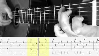 EASY TUTO - HALLELUJAH - Guitar Fingerstyle