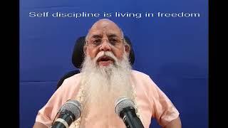 Practice of Self Discipline 1 of 6 @ Coimbatore 2017(English)1213 065837 NR YT