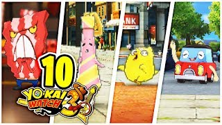 Wutwammerl, Flaumtaumler & andere NEUE Yo-Kai! YO-KAI WATCH 3 Part 10