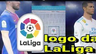 Como criar o logo da Laliga pes 2018(x box 360,ps3)