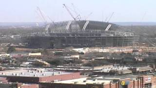 The Cowboys Stadium in three minutes via Time lapse