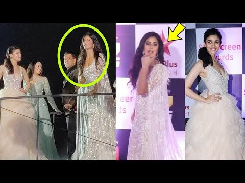 Xxx Mp4 Shocking Katrina Kaif Ingores Ranbir 39 S Gf Alia Bhatt In Front Of Everyone At Star Awards 3gp Sex