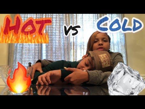 Xxx Mp4 HOT 🥵 VS COLD 🥶 CHALLENGE 3gp Sex