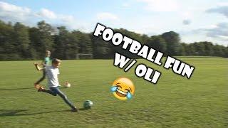 Football Fun! w/ Oli! | CROSSBAR!!!