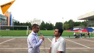 دانشجوی افغانی دانشگاه دوستی ملل در روسیه