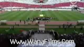 Tifo Wydad 0 1 est avec chowali par Www.WanaFilms.Com wydad 2009 tifo winners chants winners 2005