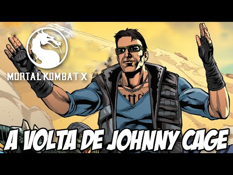 Mortal Kombat X A História - A Volta de Johnny Cage