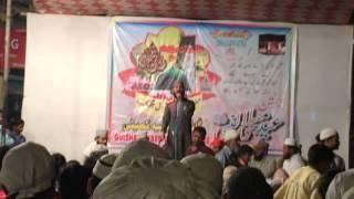 urdu naat qari meraj ashrafi (ye hai maula ali ka gharana)
