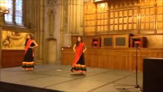 Desi girl dance choreographed by Nikita and Nisha Padmakumar