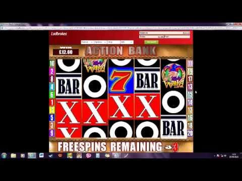 Action bank slot 22 4 16 Freespins