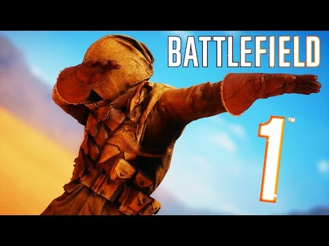 Battlefield 1 Random & Funny Moments 7 How To Avoid Tanks Hilarious Duels