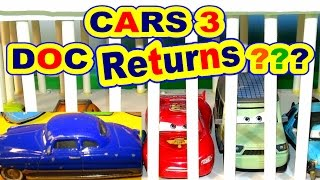 Cars 3 Trailer Predictions with Lightning McQueen , Mater , and Doc has returned to help McQueen