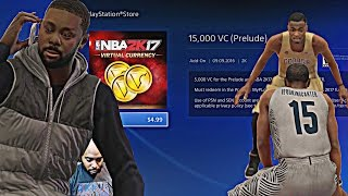 NBA 2K17 MyCAREER Gameplay - I SPENT MONEY ON A F'ING DEMO! I NEED VC THO! (THE PRELUDE EP 5)