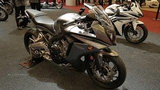 2017 Honda CBR 650F - Walkaround 2017 Montreal Motocycle Show