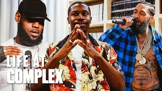 NIPSEY HUSSLE SLAPPING FOLKS AND THE NBA AWARDS! | #LIFEATCOMPLEX