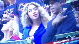 JAY-Z & BEYONCE USING ILLUMINATI TO HELP LEBRON AND THE CAVS WIN NBA FINALS?!!!