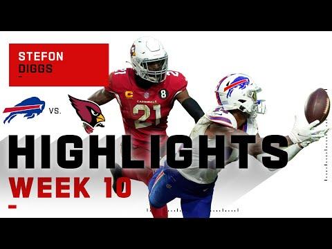 Stefon Diggs Burns the Cardinals Like a Phoenix NFL 2020 Highlights