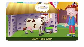 Moo,Moo,Brown cow English Rhymes