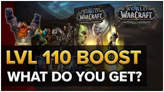 WoW BFA LvL 110 Boost! What Do You Get?