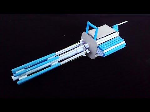 How To Make a Paper M134 Minigun (Paper Gatling Gun)