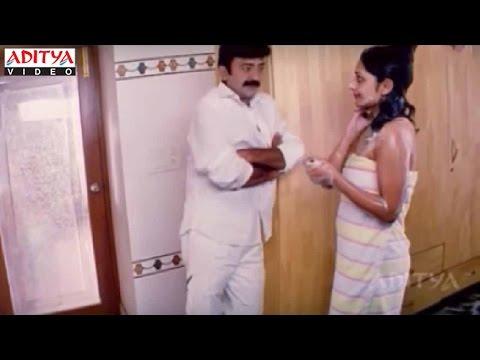 Rajasekhar And Kamalinee Mukherjee Romantic Scene - Aaj Ka Rakhwala Hindi Movie