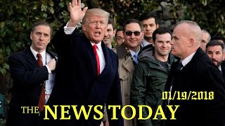 News Today 01/19/2018 | Donald Trump | U.S. Government To Shield Health Workers Under