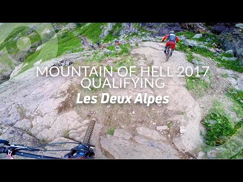 MOUNTAIN OF HELL, Qualification run (10th), Les 2 alpes, France