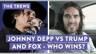 Johnny Depp vs Trump & Fox - Who Wins? Russell Brand The Trews (E428)
