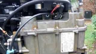 Mercury OptiMax Fuel Pump Clean-out