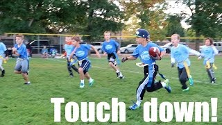 KID SCORES WINNING TOUCHDOWN AT CHAMPIONSHIP FOOTBALL GAME! DYCHES FAM