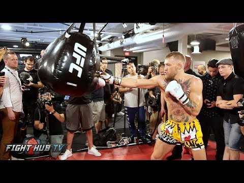 Xxx Mp4 FULL UNCUT CONOR MCGREGOR S MEDIA WORKOUT FOR FLOYD MAYWEATHER JR 3gp Sex
