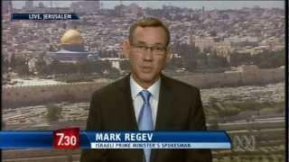 Israeli spokesman explains attacks on Gaza militants
