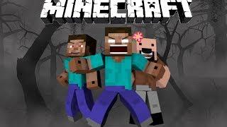 How Herobrine Lost His Eyes - Minecraft