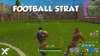 FORTNITE FOOTBALL STRAT with Jackfrags and TAG